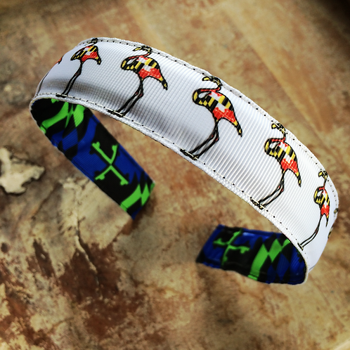 Maryland Flag Flamingos Headband
