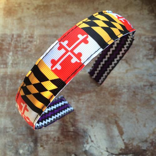 Traditional Maryland Flag Headband
