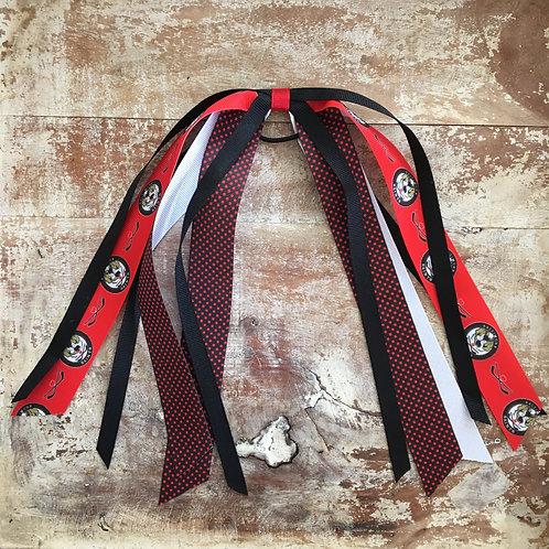 Baltimore Saints Hockey Ponytail Ribbon (Red)