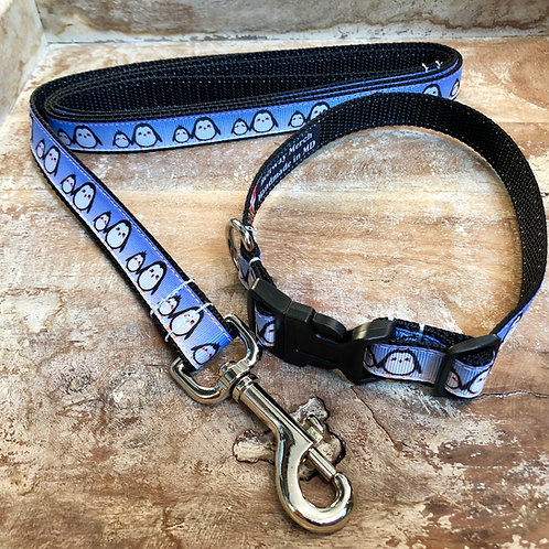 Little Penguins Collar & Leash