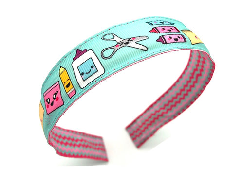 School Supplies Headband