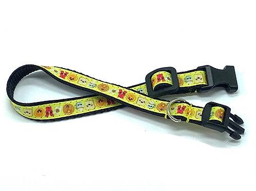 1/2 inch Breakfast Buddies Dog Collar or Leash