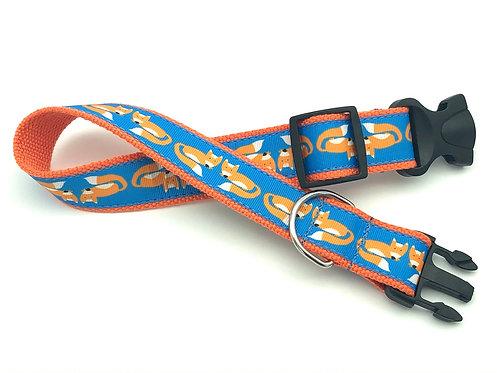 1 1/4 inch Sheridan Fox Dog Collar or Leash