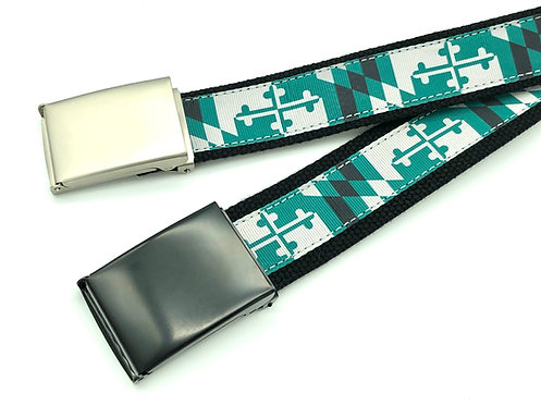 Loyola Maryland Flag Belt