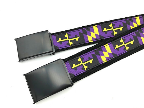 Ravens Maryland Flag Belt
