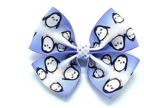 Penguin Hair Bow