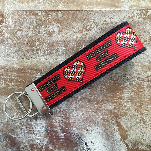 Ellicott City Strong Keychain #ECSTRONG #EllicottCityStrong