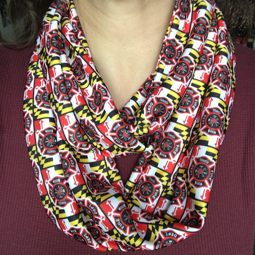 Maryland Fire Department Infinity Scarf