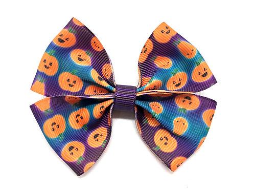 Halloween Pumpkins Dog Bow Tie