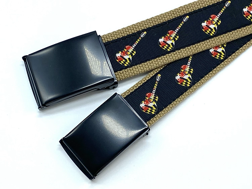 Maryland Flag Guitars Belt