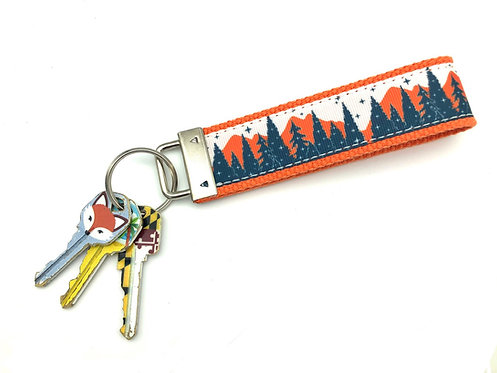 Mountain View Key Chain