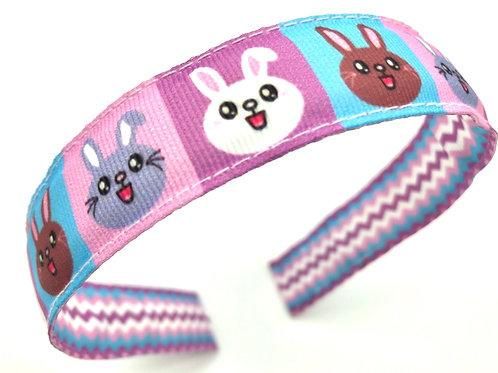 kawaii bunny rabbit easter headband