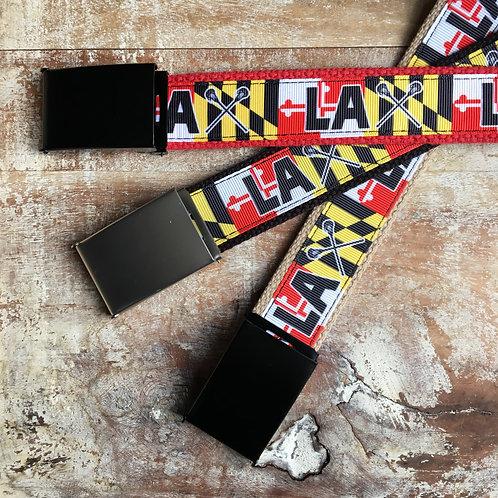 Maryland Lacrosse Belt