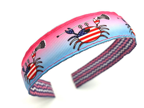 USA Crab Lacrosse Headband
