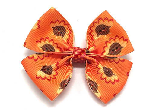 Thanksgiving Turkey Dog Bow Tie