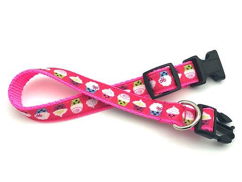 Cupcakes Dog Collar & Leash