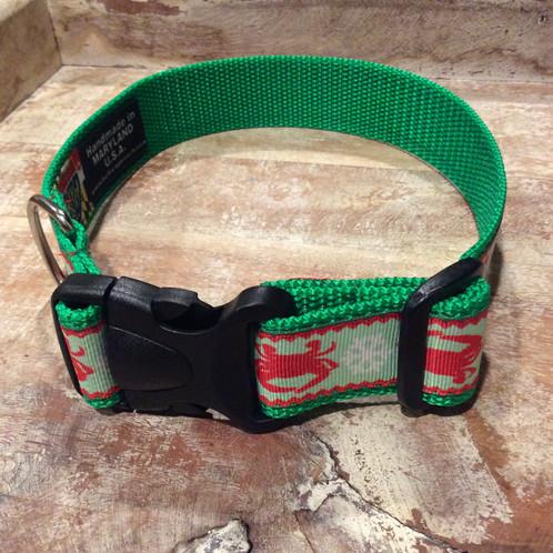 crabs for christmas dog collar