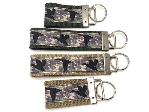 Camo Ducks Key Chain