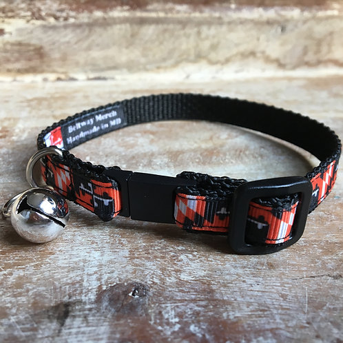 Orioles Maryland Flag Cat Collar