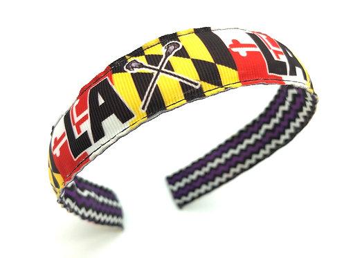 Maryland Lacrosse Headband