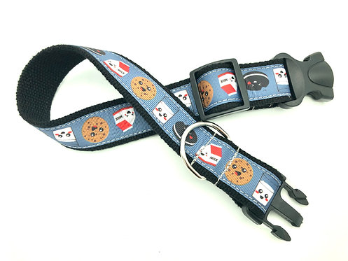 milk and cookies clip dog collar
