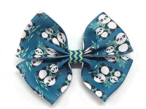 Panda Bears Dog Bow Tie
