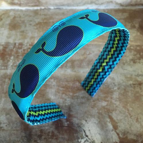 Blue Whale Headband