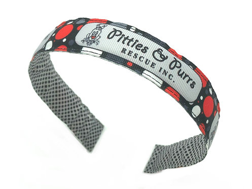 pitties and purrs kids headband