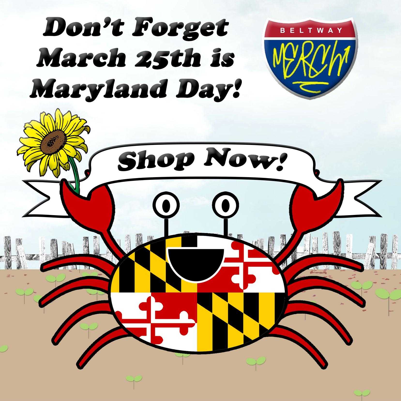 maryland day banner crab no website