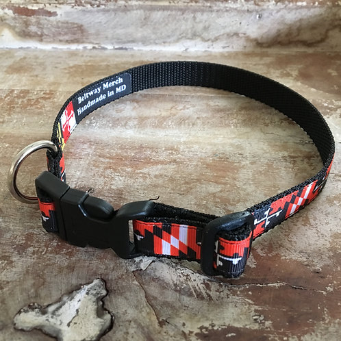 Orioles Maryland Flag Dog Collar