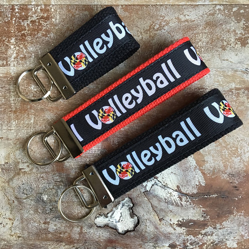 Maryland Volleyball Key Chain
