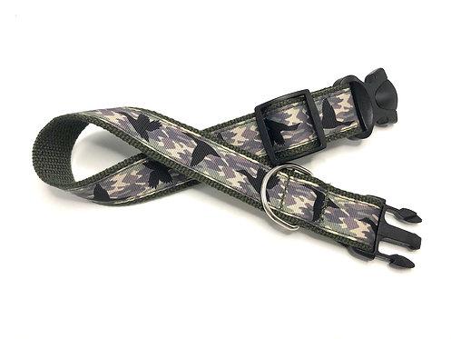 1 1/4 inch Camo Ducks Dog Collar or Leash