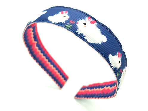 kawaii Easter bunny rabbit headband