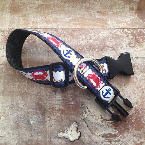1 1/4 inch Maryland My Maryland Dog Collar or Leash