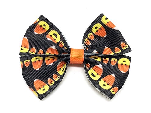Candy Corn Dog Bow Tie