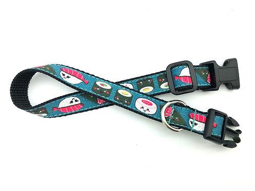 """3/4"""" Sushi Dog Collar & Leash"""