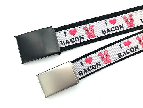 I Love Bacon Belt