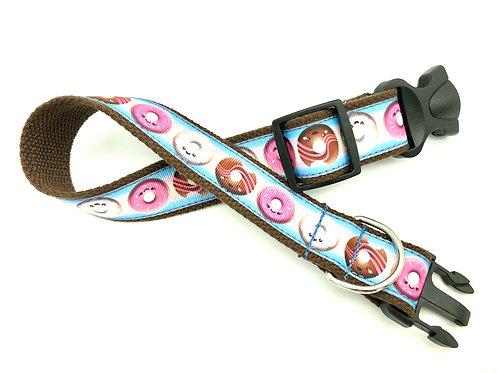 Kawaii donut dog collar