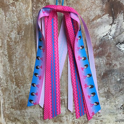 ballet ballerinas dancers ponytail ribbon