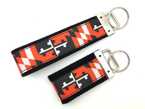 Orioles Maryland Flag Key Chain