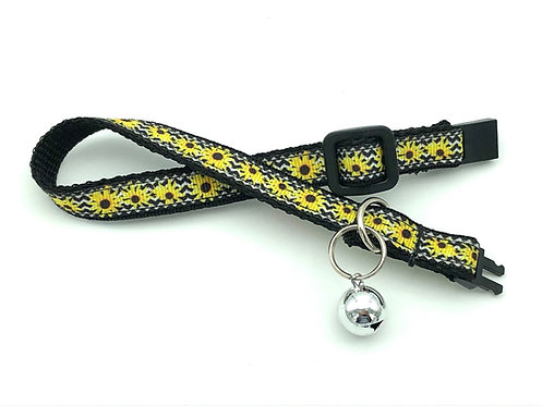 Black-Eyed Susan Cat Collar