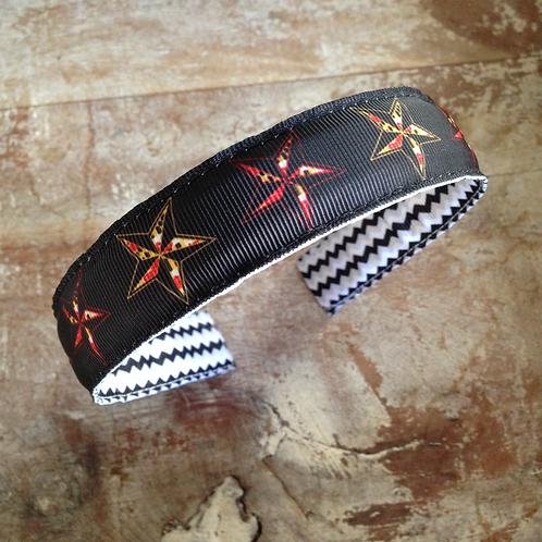 Maryland Flag Stars Headband