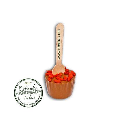 Ritonka Hot Chocolate Stick 33,6%; Goji-Beeren