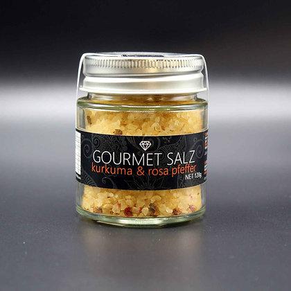 Gourmet Salz; Kurkuma - roter Pfeffer