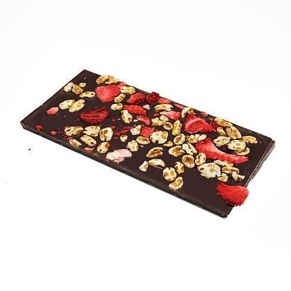 Ritonka bitter Schokolade - Dinkel, Erdbeere