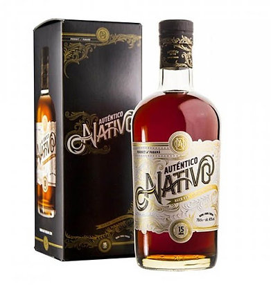 Auténtico Nativo Aged Rum Special Reserve 15 Years Old in Tube
