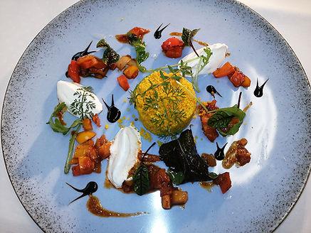 Spicy Paprikaragout mit orientalischem C