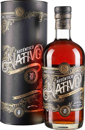 Auténtico Nativo Aged Rum Special Reserve 20 Years Old in Tube