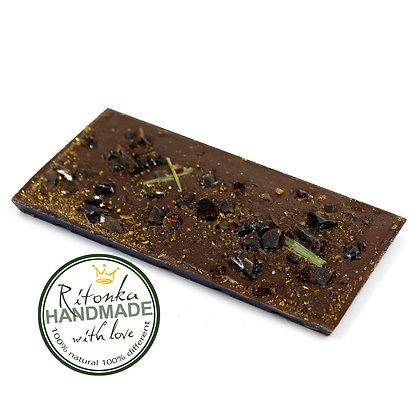 Ritonka Bitterschokolade Grüntee - süßes Gras