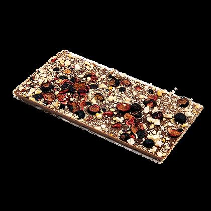 Ritonka milch Schokolade - Johannisbeere, Pflaume, Zimt